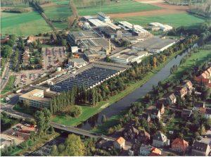 Standort Linnich Luftaufnahme
