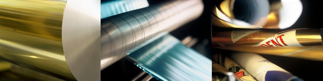Transformation de différents matériaux (papier, aluminium, films et grilles)