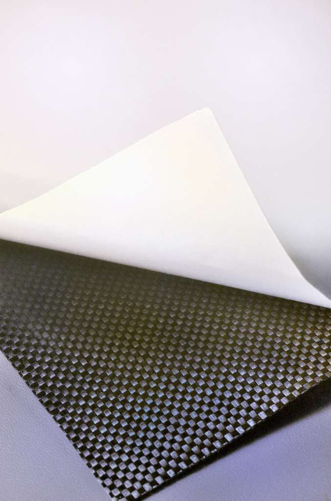 Supports siliconés - Prepreg nappe de carbone