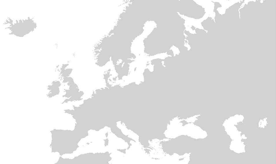 Europ map